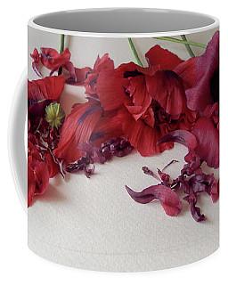 Poppies Petals Coffee Mug