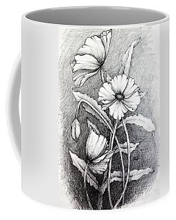 Poppies Coffee Mug by Rebecca Davis