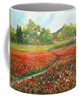 Poppies Time Coffee Mug by Dorothy Maier