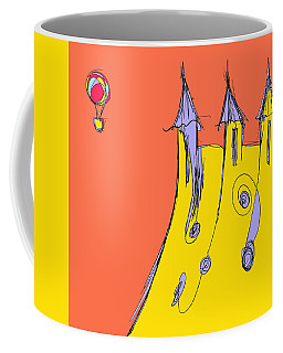 Popping In For A Visit Coffee Mug