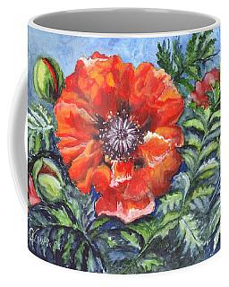 Poppy Brilliance Coffee Mug by Carol Wisniewski
