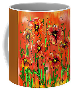 Poppy Day  Coffee Mug