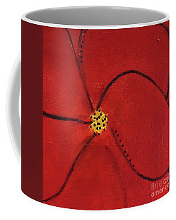 Poppy Dots Coffee Mug