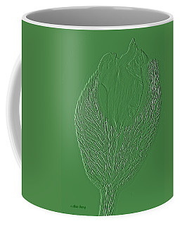 Poppy Embossing  Coffee Mug