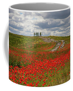 Poppy Field 2 Coffee Mug