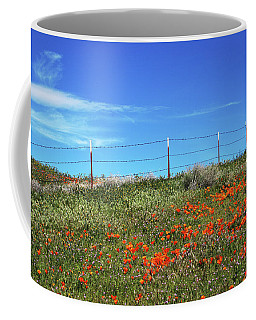 Poppy Hill- Art By Linda Woods Coffee Mug