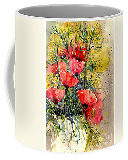 Poppy Impression Coffee Mug
