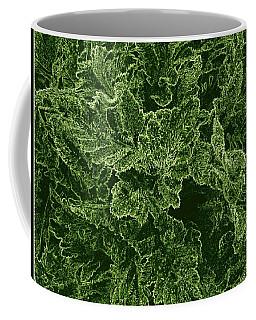 Poppy Leaves Coffee Mug
