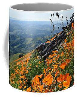 Poppy Mountain  Coffee Mug