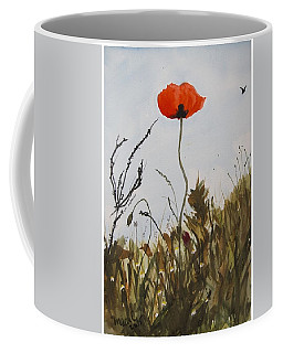 Poppy On The Field Coffee Mug