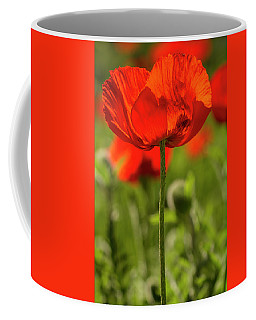 Poppy Stem Coffee Mug