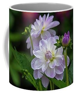 Porcelain Dahlias 2 Coffee Mug