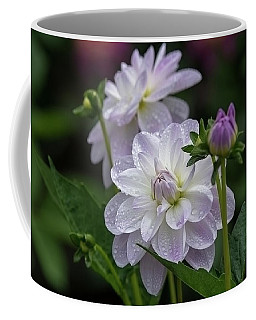 Porcelain Dahlias Coffee Mug