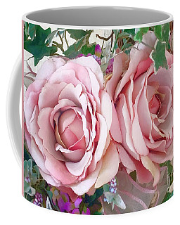 Porch Roses Coffee Mug