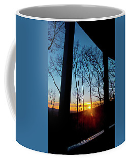 Porch Sunset Coffee Mug