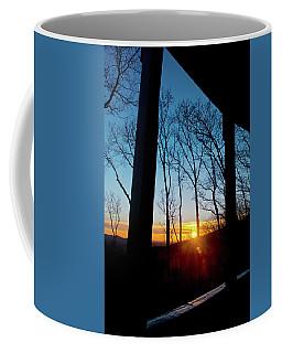 Porch Sunset Coffee Mug