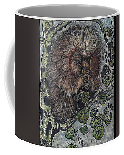 Porcupine In Aspen Coffee Mug