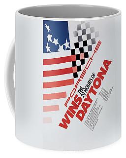 Porsche 24 Hours Of Daytona Wins Coffee Mug