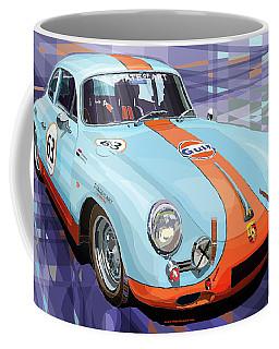 Porsche 356 Gulf Coffee Mug