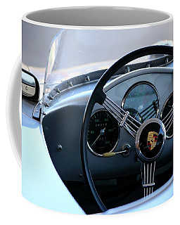 Porsche 550 Cockpit Coffee Mug
