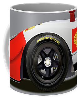 Porsche 908 Detail Illustration Coffee Mug