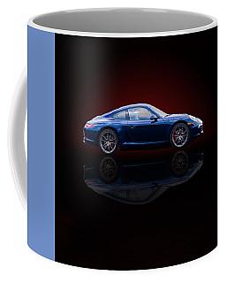 Porsche 911 Carrera - Blue Coffee Mug