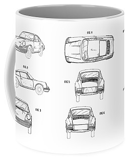 Car Patent Coffee Mugs