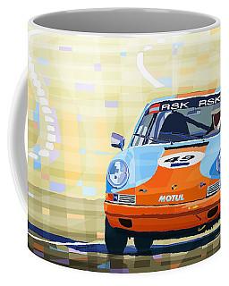 Porsche 911 S  Classic Le Mans 24  Coffee Mug