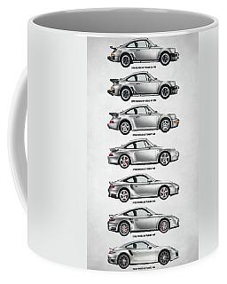 Porsche 911 Turbo Evolution Coffee Mug