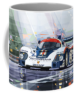 Porsche 956 Rothmans 1982 1000km Francorchamps Derek Bell Coffee Mug