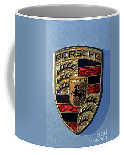 Porsche Badge Coffee Mug