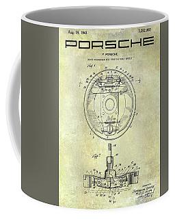Porsche Brake Mechanism Patent Coffee Mug