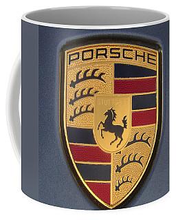 Porsche Emblem Coffee Mug