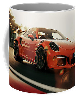 Porsche Gt3 Rs - 4 Coffee Mug