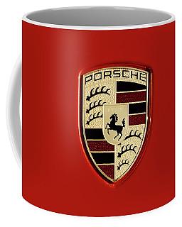 Porsche Power Red 111216 Coffee Mug