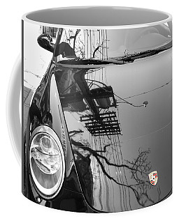 Porsche Reflections Coffee Mug by Andrew Fare