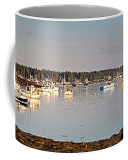 Port Clyde Looking South To Marshall Point Light #8546-55 Coffee Mug