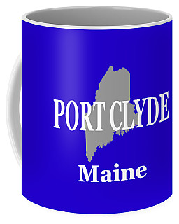 Coffee Mug featuring the photograph Port Clyde Maine State City And Town Pride  by Keith Webber Jr