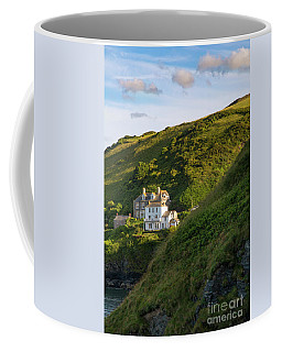Coffee Mug featuring the photograph Port Isaac Homes by Brian Jannsen