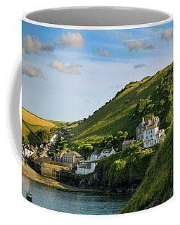 Coffee Mug featuring the photograph Port Issac Hills by Brian Jannsen