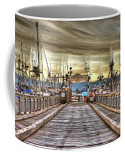 Port Of Newport - Dock 5 Coffee Mug