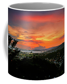 Port Of Spain Sunset Coffee Mug