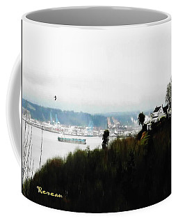 Port Of Tacoma At Ruston Wa Coffee Mug