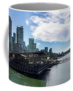 Coffee Mug featuring the photograph Port Of Vancouver by Ed Clark