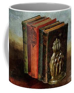 Coffee Mug featuring the digital art Portable Magic by Lois Bryan