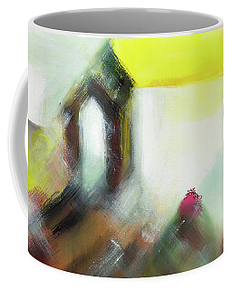 Coffee Mug featuring the painting Portal by Anil Nene