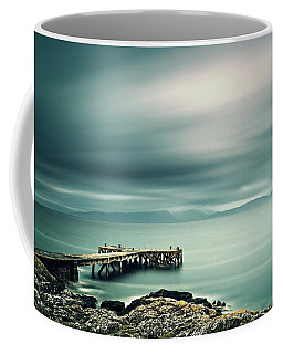 Portencross Pier Coffee Mug