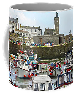 Porthleven Inner Harbour Coffee Mug