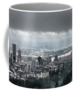 Portland After A Morning Rain Coffee Mug