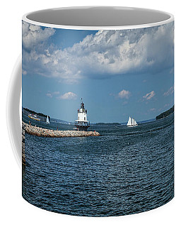 Portland Harbor, Maine Coffee Mug